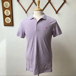 Scotch & Soda Lavender Polo Shirt